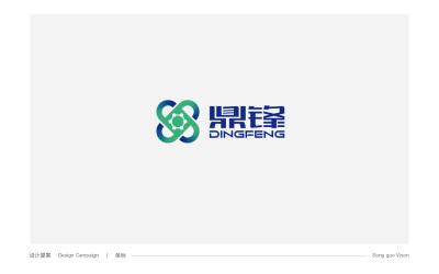 鼎峰化工logo设计