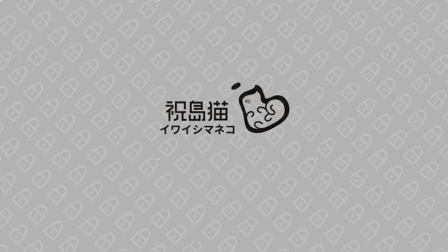 祝岛猫餐饮品牌LOGO设计入围方案7