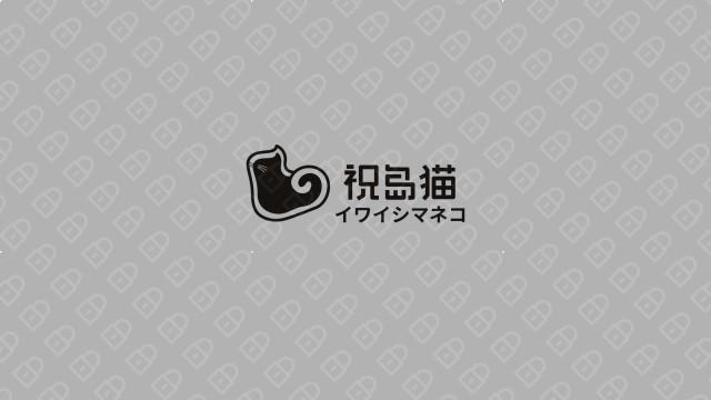 祝岛猫餐饮品牌LOGO万博手机官网入围方案10