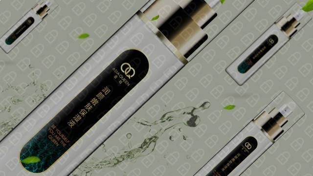 亚后日用品牌包装设计入围方案1
