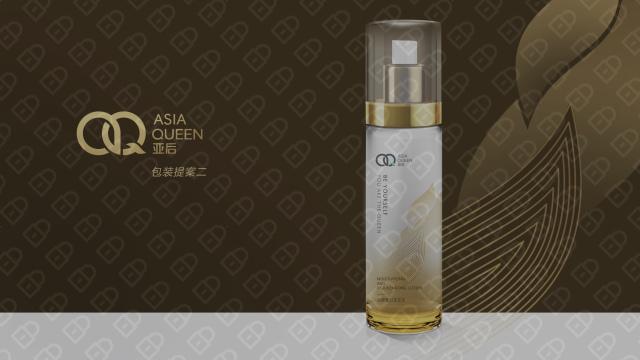 亚后日用品牌包装设计入围方案5