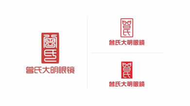 曾氏大明眼镜品牌LOGO乐天堂fun88备用网站