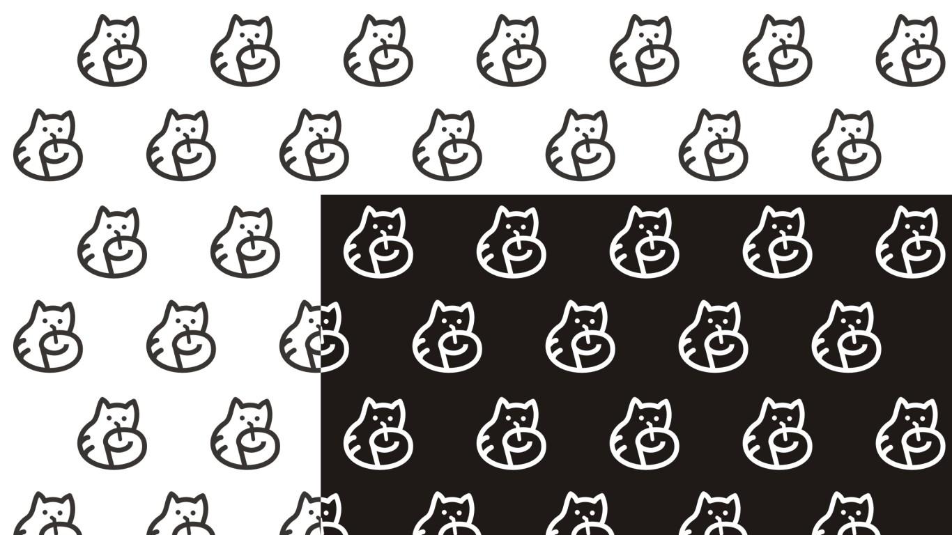 祝島貓餐飲品牌LOGO設計中標圖4