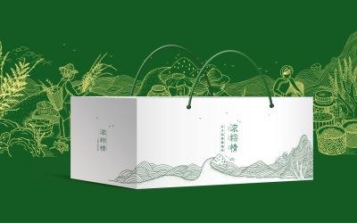 端午禮盒包裝設計