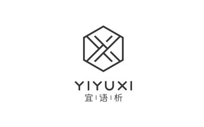 宜语析服装品牌logo设计