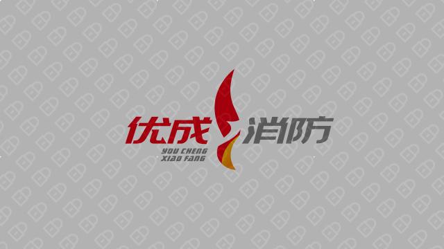 优成消防公司LOGO万博手机官网入围方案0