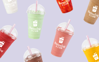 奶茶店品牌设计
