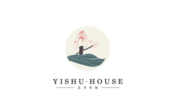 客栈logo设计