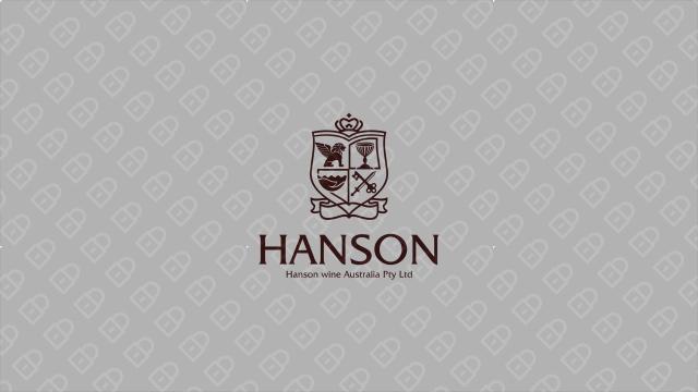 HANSON紅酒品牌LOGO設計入圍方案1