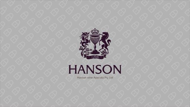 HANSON紅酒品牌LOGO設計入圍方案0