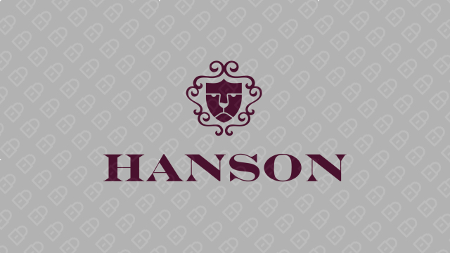 HANSON紅酒品牌LOGO設計入圍方案2