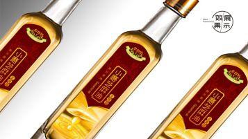 金食坊芝麻油品牌包裝設計