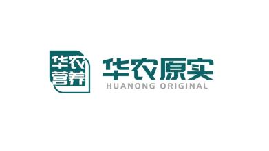 華農原實食品品牌LOGO設計