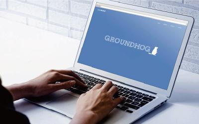 土拨鼠网络科技有限公司标志设计