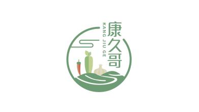 康九哥食品品牌LOGO设计