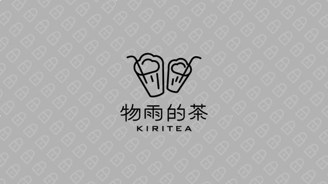 物雨的茶品牌LOGO设计入围方案8