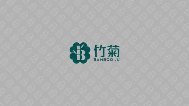 竹菊生物科技公司LOGO设计入围方案3