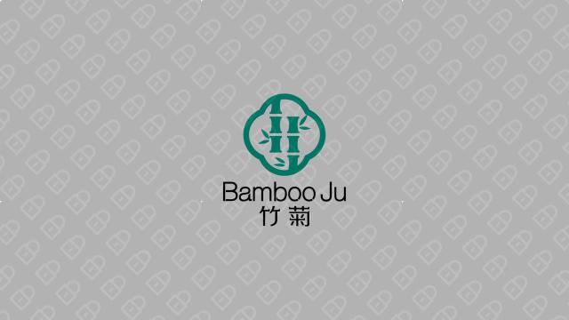 竹菊生物科技公司LOGO设计入围方案4