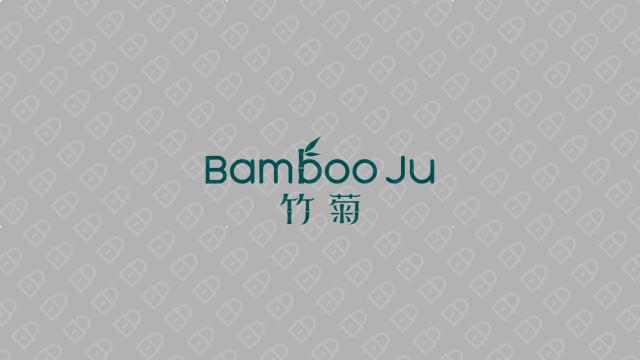 竹菊生物科技公司LOGO设计入围方案5