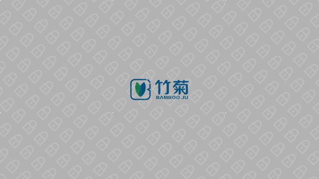 竹菊生物科技公司LOGO设计入围方案1