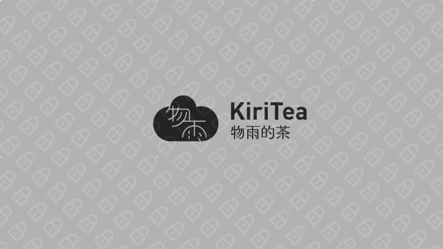 物雨的茶品牌LOGO设计入围方案3