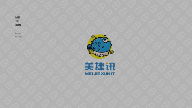 美捷讯旅游品牌LOGO设计入围方案4