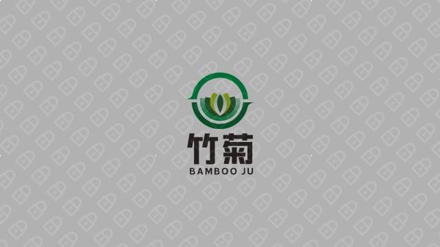 竹菊生物科技公司LOGO设计入围方案7
