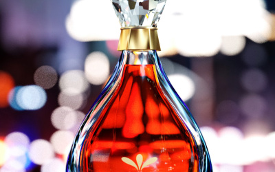 洋酒产品渲染
