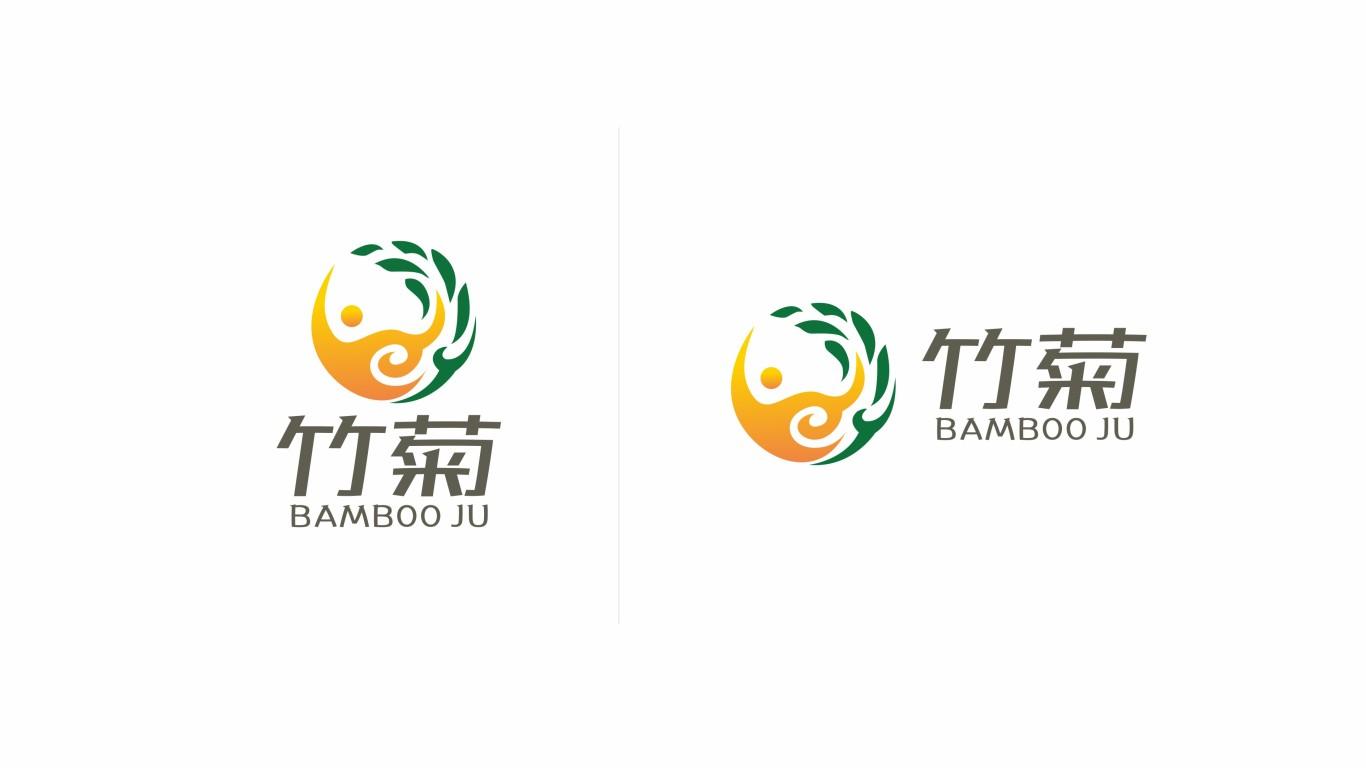 竹菊生物科技公司LOGO设计中标图3