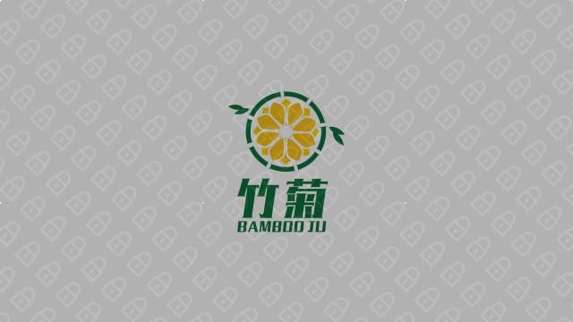 竹菊生物科技公司LOGO设计入围方案6