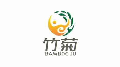 竹菊生物科技公司LOGO設計