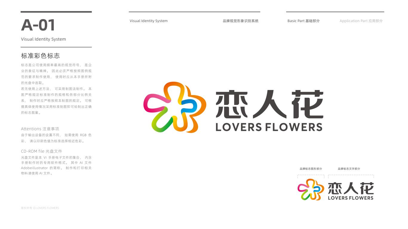 恋人花食品品牌VI设计中标图2