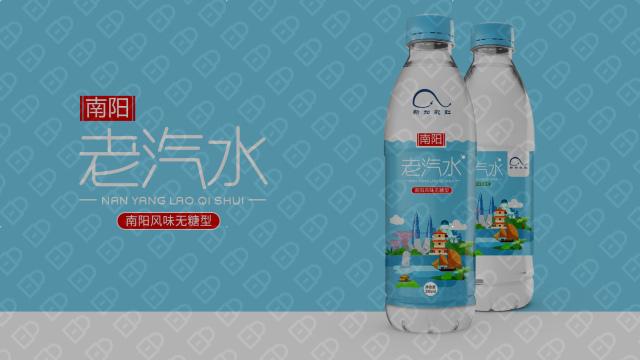南洋老汽水品牌包装设计入围方案1
