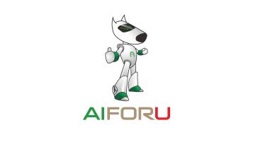 aiforu科技智能品牌LOGO設計