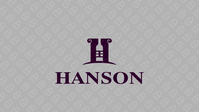 HANSON紅酒品牌LOGO設計入圍方案4