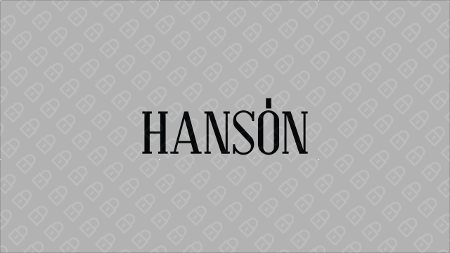 HANSON紅酒品牌LOGO設計入圍方案3