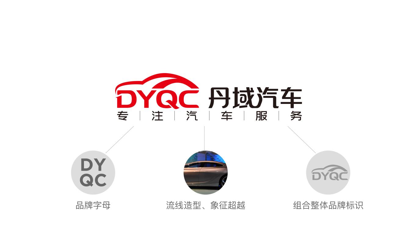 丹域汽车品牌LOGO设计中标图0