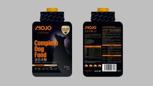 MOJO寵物糧食品牌包裝設計