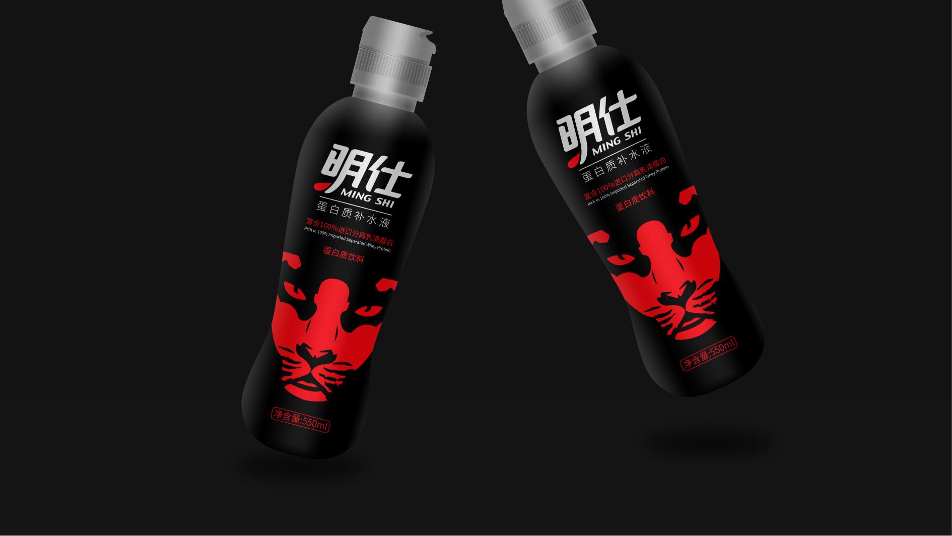 明仕饮料品牌包装设计