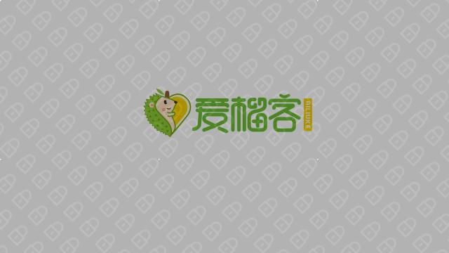 愛榴客食品品牌LOGO設計入圍方案1