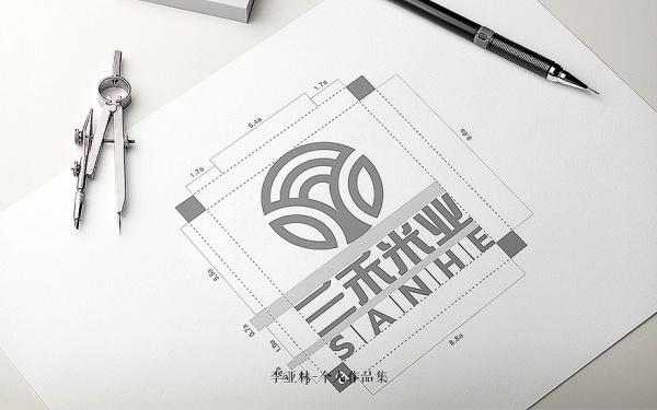 三禾米业企业形象设计