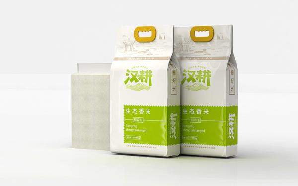 汉耕大米包装设计