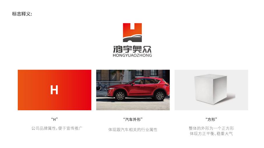 鴻宇奧眾機械公司LOGO設計中標圖2