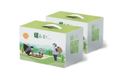 朴品荟手提盒包装设计