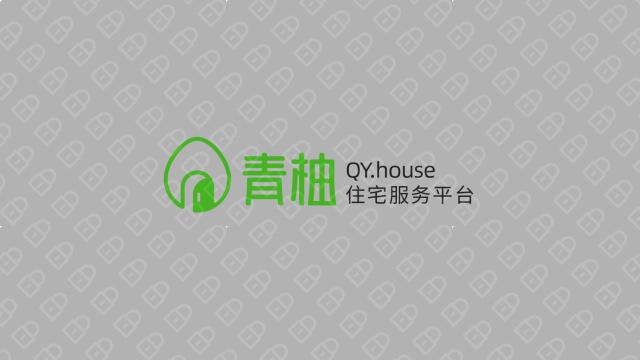 青柚線上家居品牌LOGO設計入圍方案0