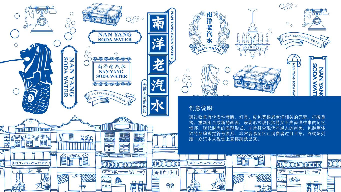 南洋老汽水品牌包裝設計中標圖1