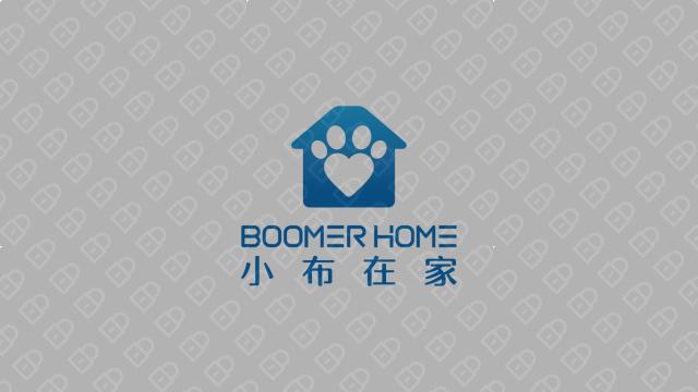 小布在家科技公司LOGO設計入圍方案3