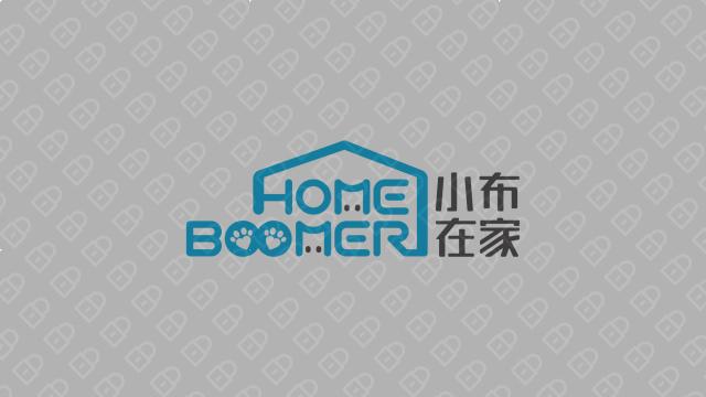 小布在家科技公司LOGO設計入圍方案4