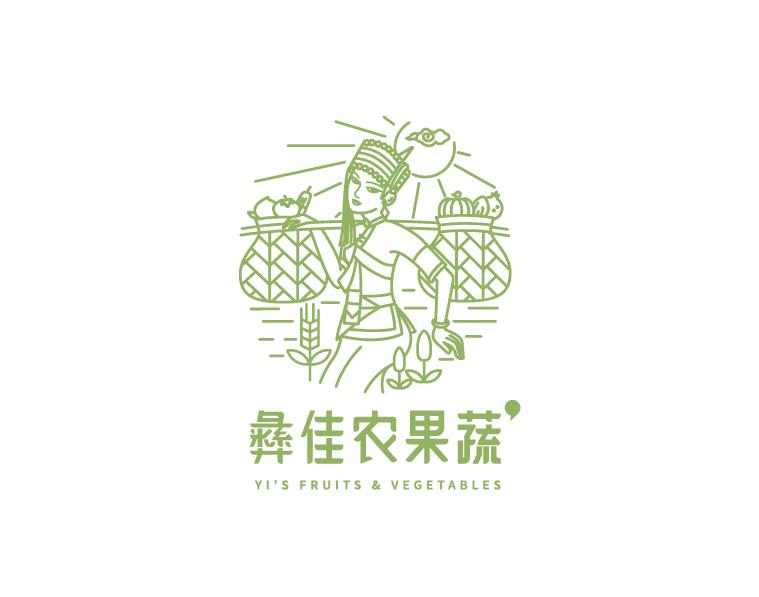 彝佳农果蔬品牌LOGO万博手机官网