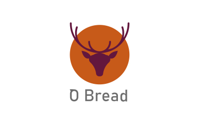 O Bread  logo设计